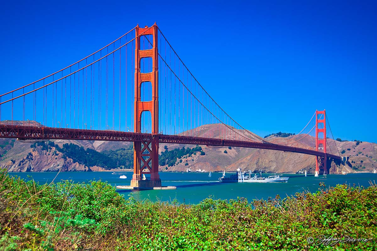 Golden Gate Bridge San Francisco California Jeffrey