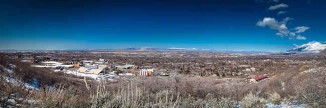 Ogden - Ben Lomond to Great Salt Lake to WSU