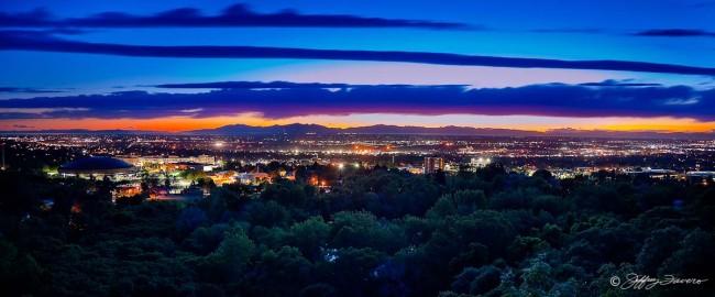 Ogden After Sunset