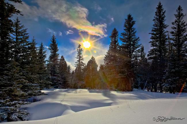 Sun Pines Snow