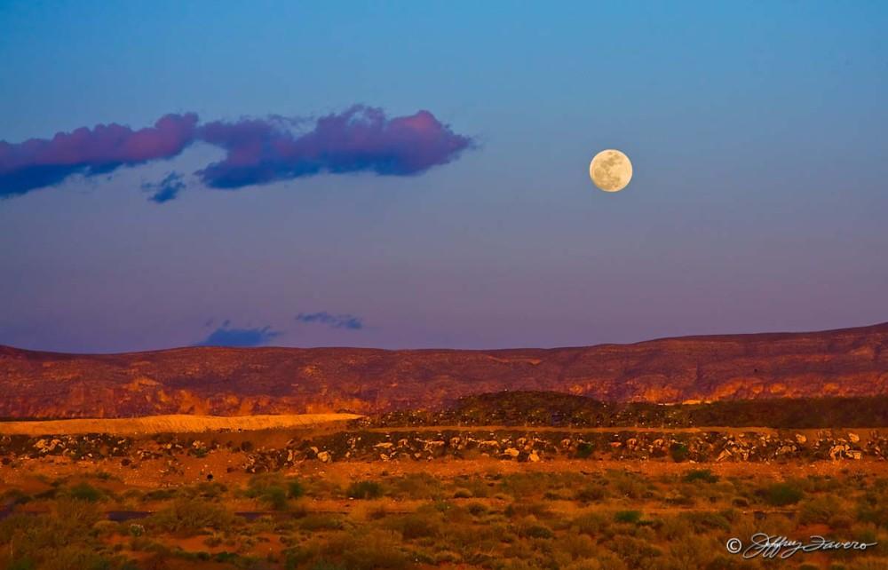 Sand Hollow Moonrise - St. George, Utah