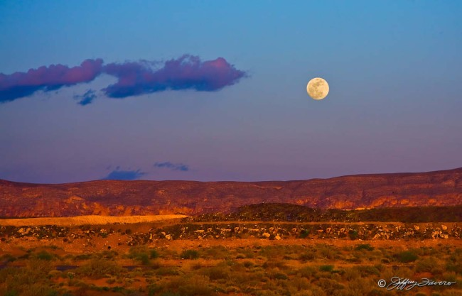 Sand Hollow Moonrise - St. George, Utah