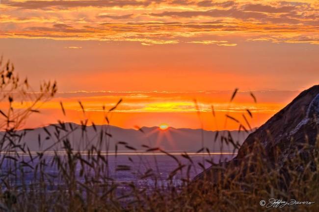 Ogden East Bench Sunset