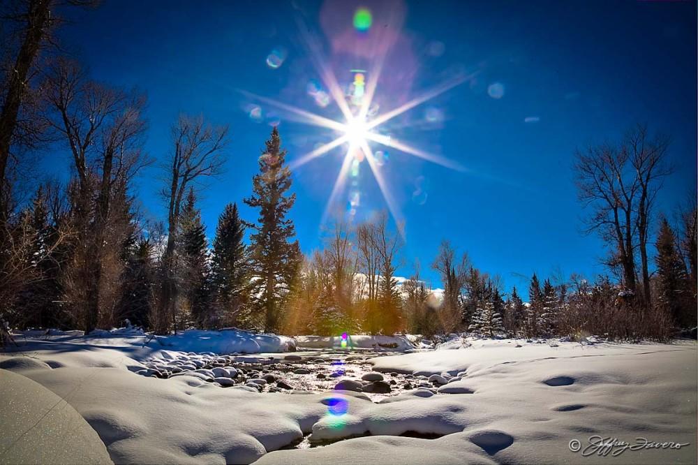 Winter Sun Over Blacks Fork