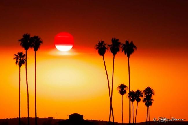 Kern County Sunset