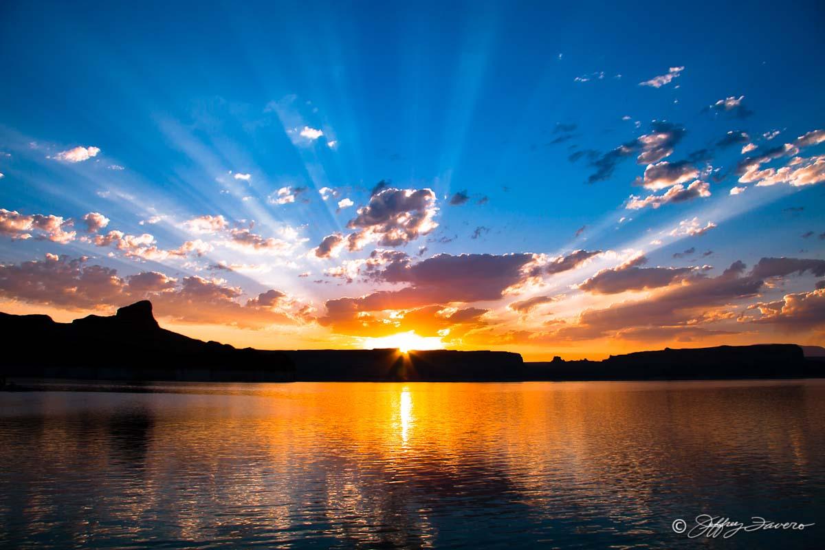 Padre Bay Sunrise Lake Powell Jeffrey Favero Fine Art