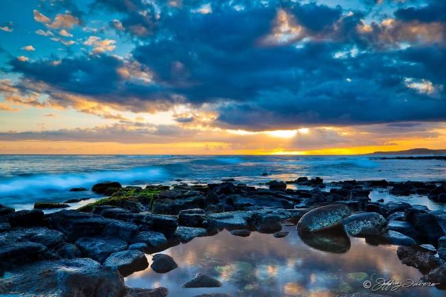 Koloa Landing Sunset