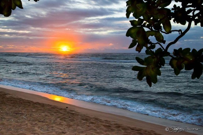 Kaua'i Beach Sunrise