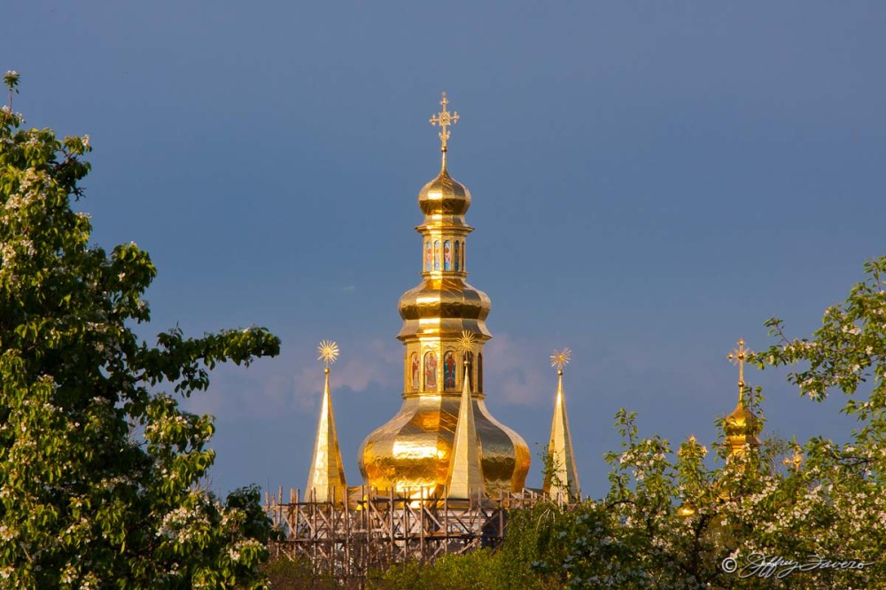 Golden Spires - Kiev, Ukraine