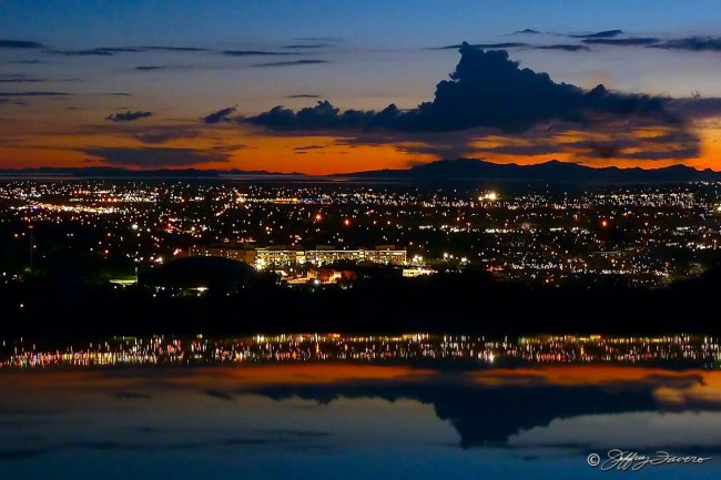 Ogden City Nightscape