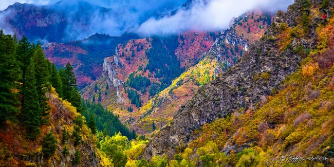 Fall Ogden Canyon