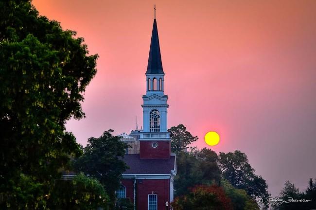 Sunset Beyond First Baptist