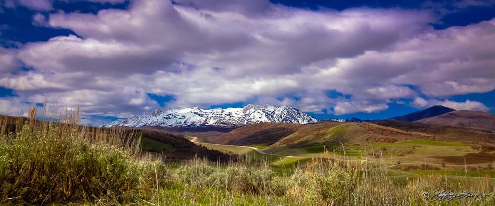 Spring Ogden Valley View Of Mt. Ogden