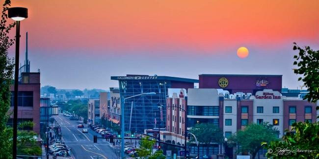 Sunset Downtown Ogden
