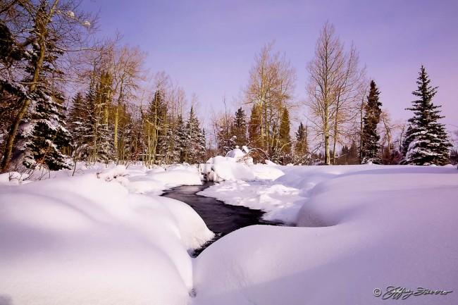 Wondrous Winter Wyoming