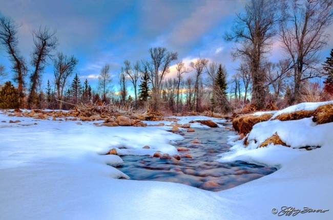 Blacks Fork In Winter