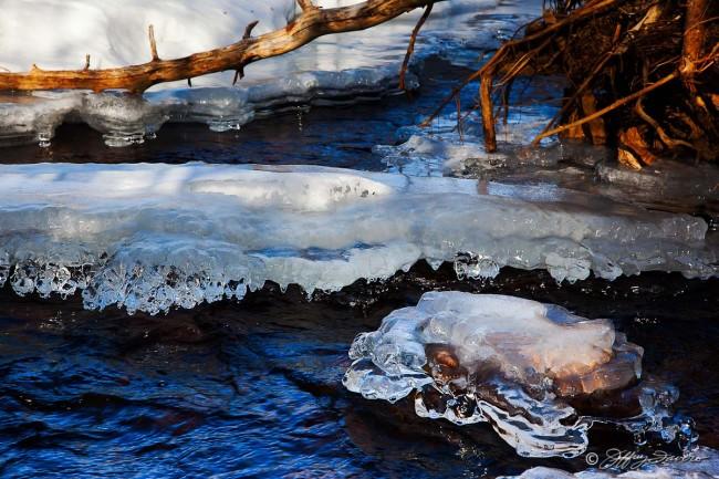 River Ice Sculpture