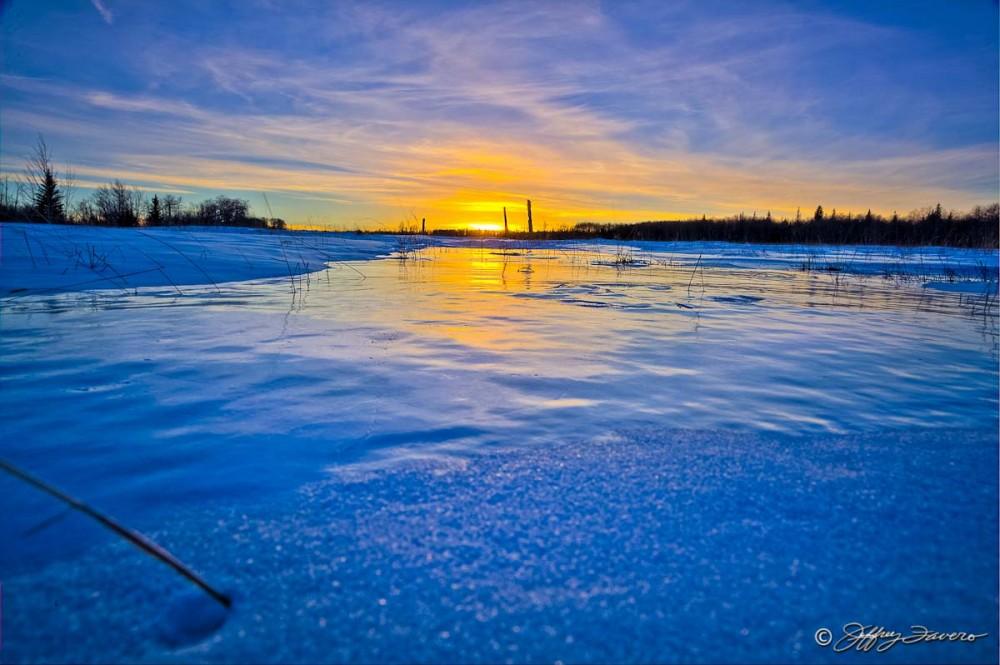 Sunset On Frozen Overflow
