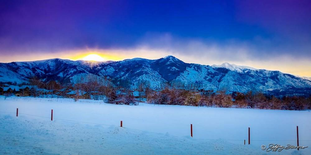 Lewis Peak Sunrise