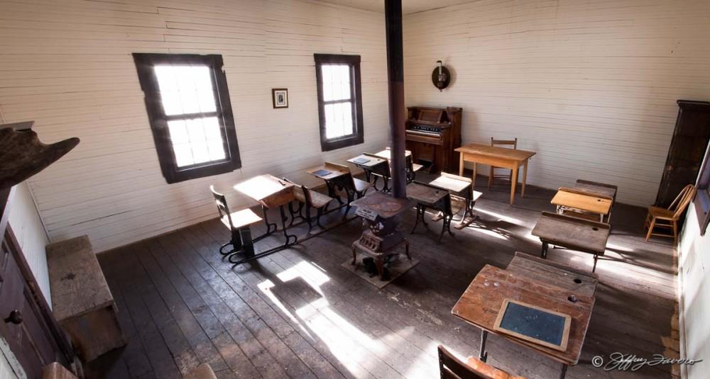 Pioneer Schoolhouse - Robertson, Wyoming