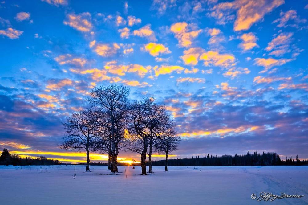 Wyoming Winter Sky