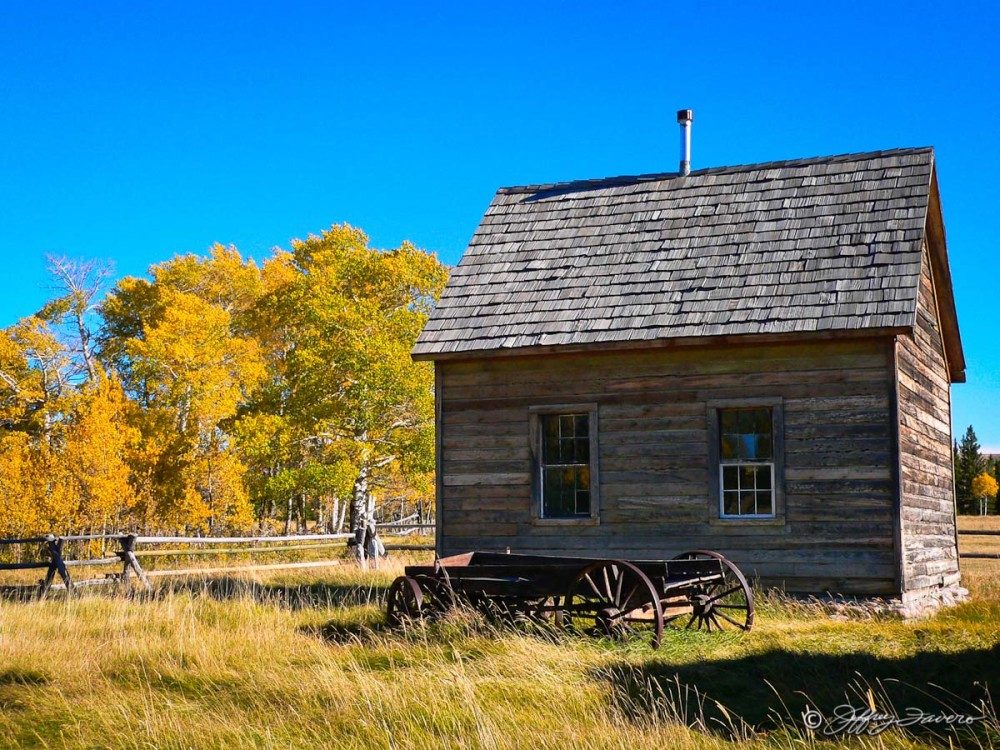 Fall Pioneer Schoolhouse