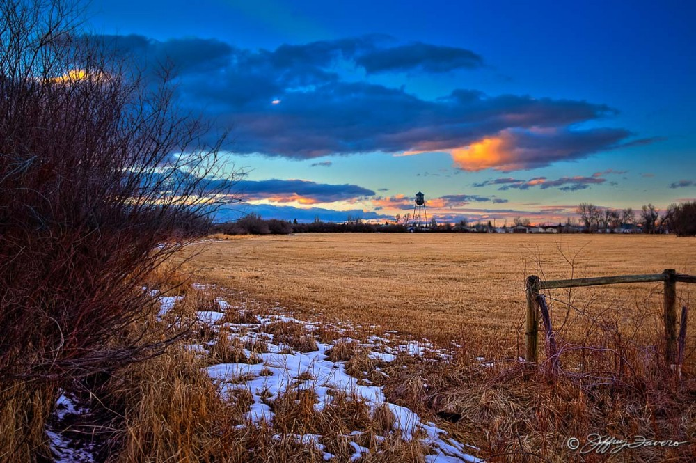 Colorful Wyoming Winter