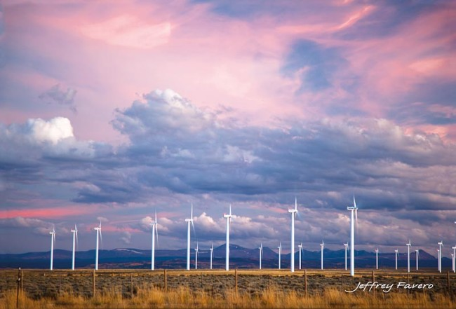 Pink Sky Turbines