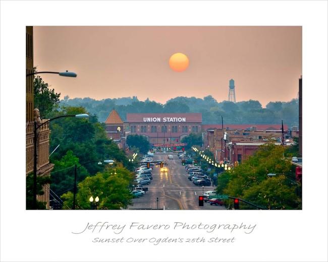 Sunset Over 25th Street