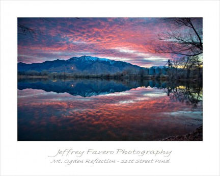 Mt Ogden Reflection