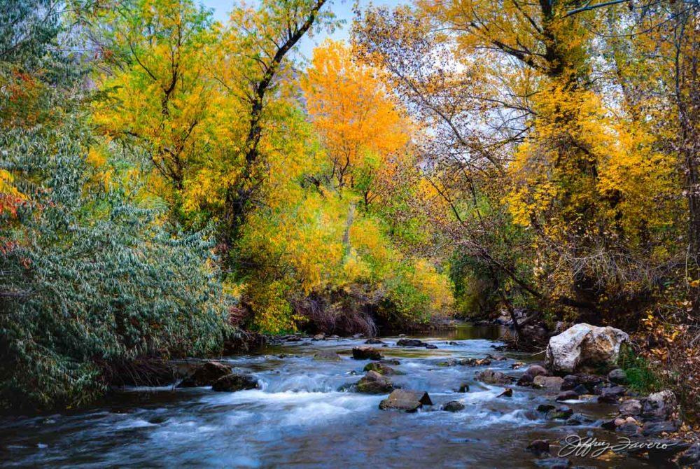 Colorful Ogden River