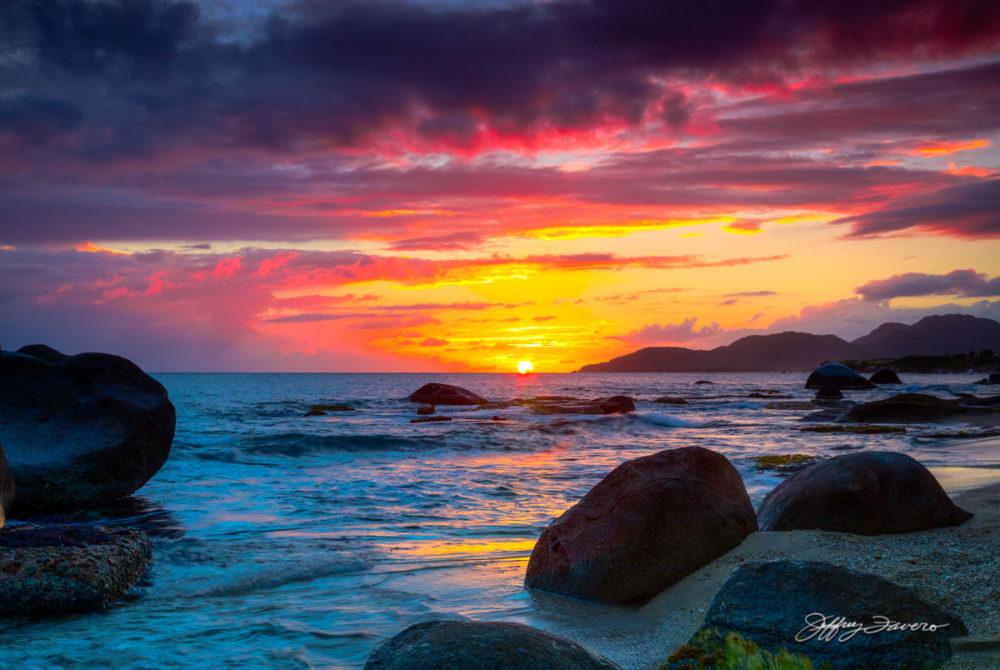 Sunset Beyond Esperanza Harbor